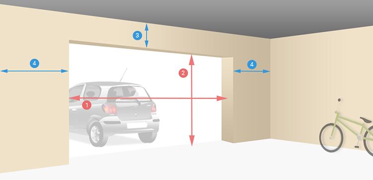 Porte de garage en aluminium sur mesure motoris e enroulable - Porte de garage enroulable grande largeur ...