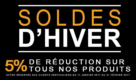 SOLDES D'HIVER 2017 !!!