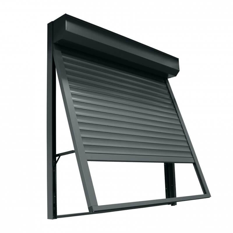 volet roulant projection en aluminium hop. Black Bedroom Furniture Sets. Home Design Ideas