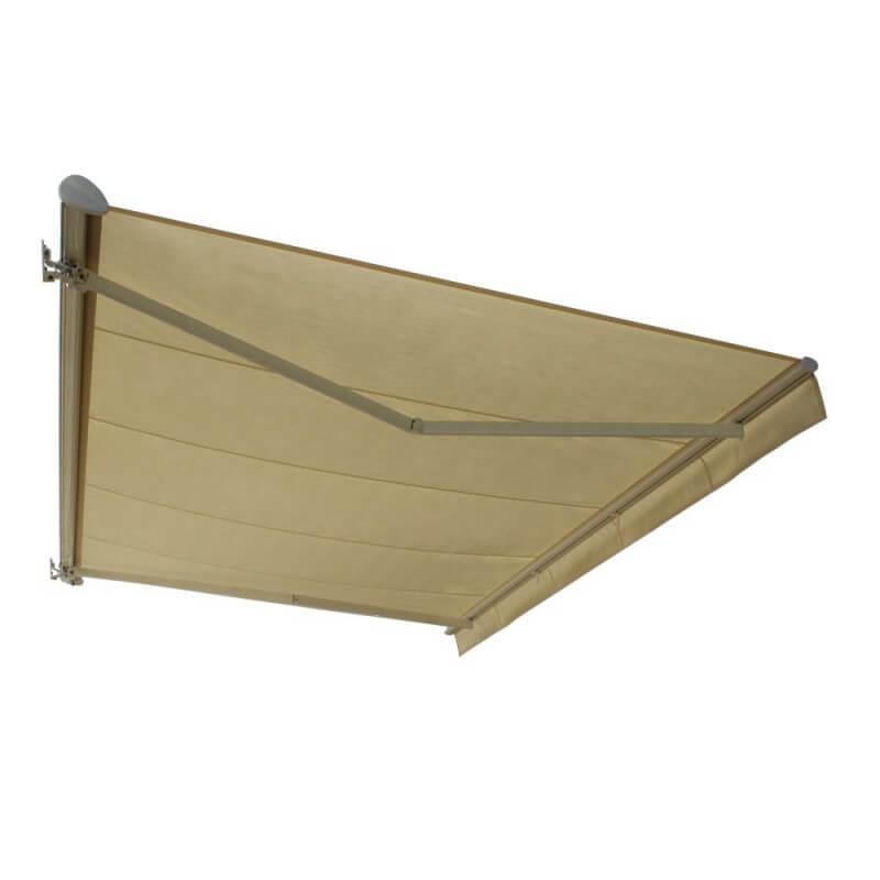 stores aluminium store banne semi coffre sur mesure. Black Bedroom Furniture Sets. Home Design Ideas