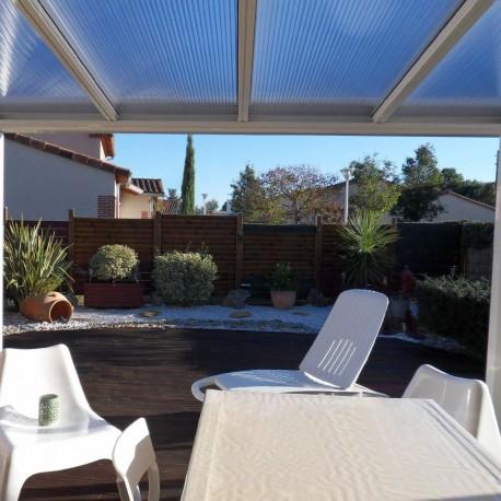 toit pour pergola latest toile de toit tonnelle prado x m taupe with toit pour pergola trendy. Black Bedroom Furniture Sets. Home Design Ideas