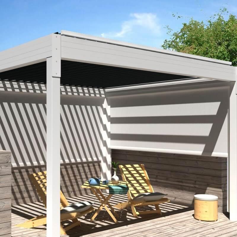 pergola bioclimatique architect autoport e lames motoris es alsol. Black Bedroom Furniture Sets. Home Design Ideas
