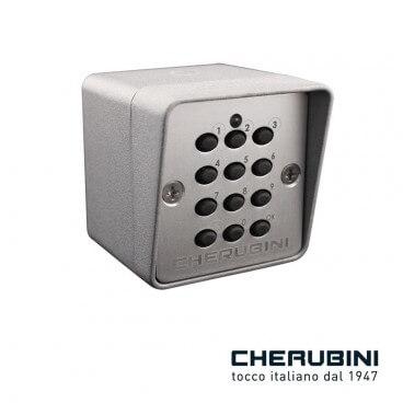 Clavier numérique radio Chérubini - Pergolas Bioclimatiques, Stores Bannes et Volets sur mesure