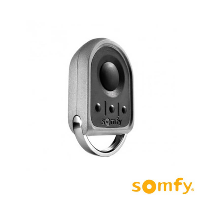T l commande somfy keygo io pour porte de garage for Installation porte de garage nice