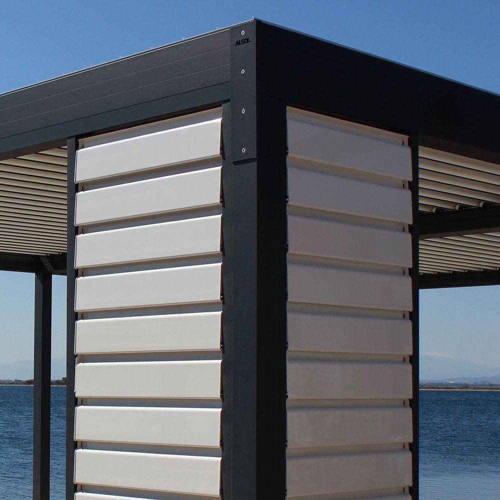 Claustra Bois Lames Orientables claustra brise soleil orientable en aluminium