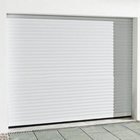 Porte de garage enroulable en alu LDC : 2593 mm HCC : 2330 mm