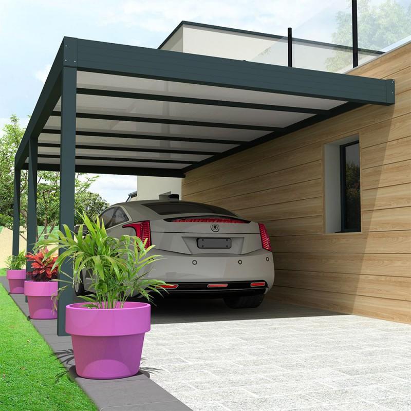 Carport Architect Avec Toit Thermotop En Aluminium Et Sur Mesure Alsol