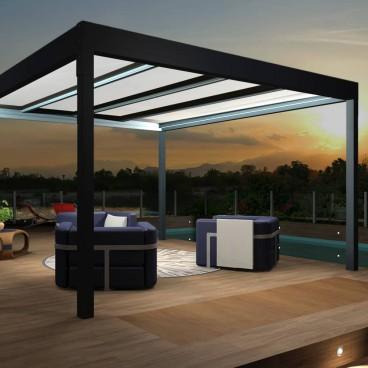 Devis en ligne Pergola Architect Thermotop® autoportée en aluminium