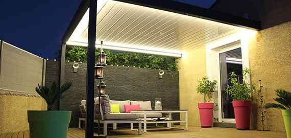 Pergola bioclimatique Design sur mesure