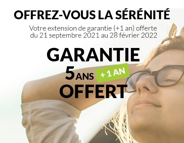Extension de Garantie +1 an Offert • Alsol