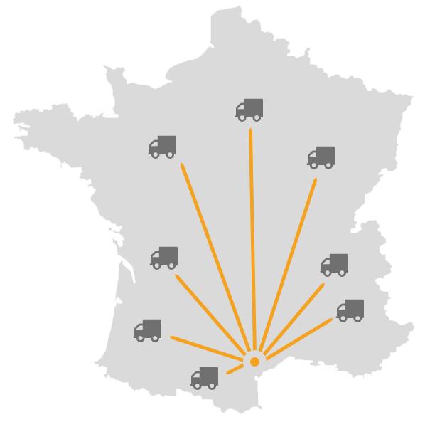 Livraison directe à domicile Alsol.fr