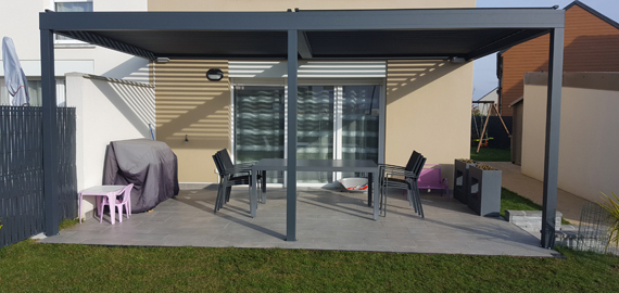 Pergola Bioclimatique Lounge