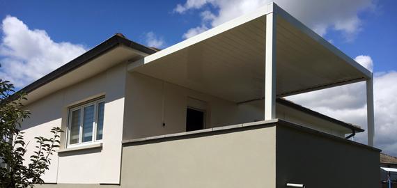 Installation sur balcon terrasse