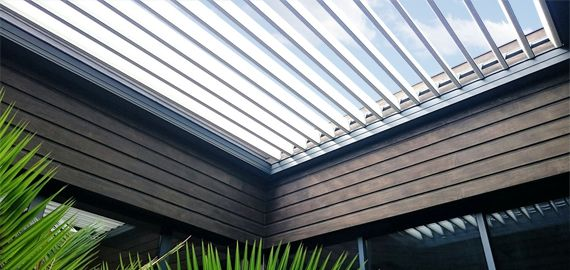 Intégration de la pergola dans un patio