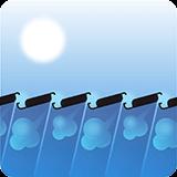 Pergola bioclimatique - orientation solaire
