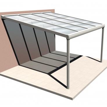 Devis en ligne Pergola toit polycaronate Light